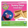 Earth's Best Sesame Street Snack Bars Strawberry Organic - 8 ct