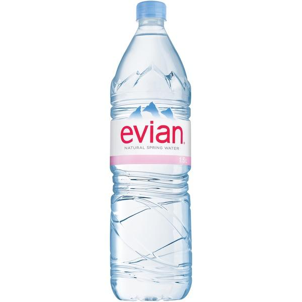 Evian Spring Water Natural