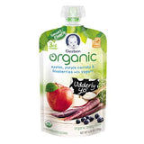 Gerber 3rd Foods Apples, Purple Carrots & Blueberries with Yogurt Organic