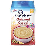 Gerber Cereal Oatmeal Single Grain