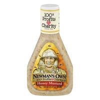 Newman's Own Dressing Honey Mustard All Natural