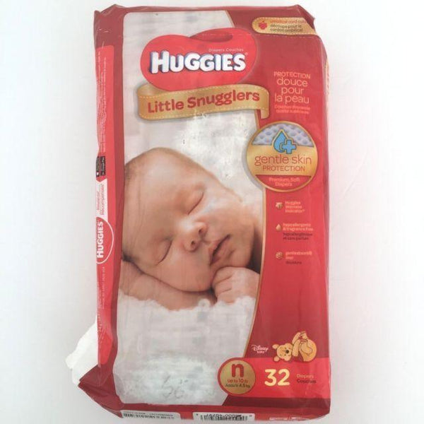 Huggies Little Snugglers Newborn Diapers Up to 10 lbs