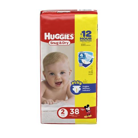Huggies Snug & Dry Size 2 Diapers 12-18 lbs