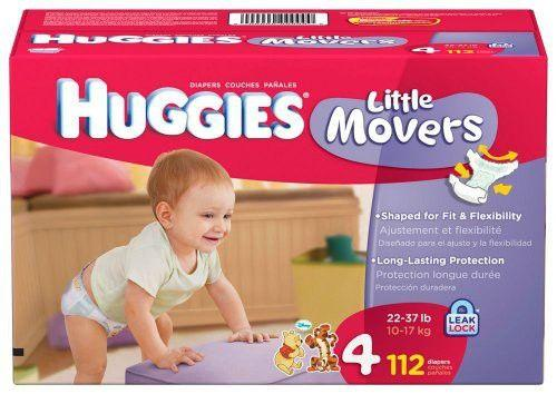 Huggies Snug & Dry Size 4 Diapers 22-37 lbs