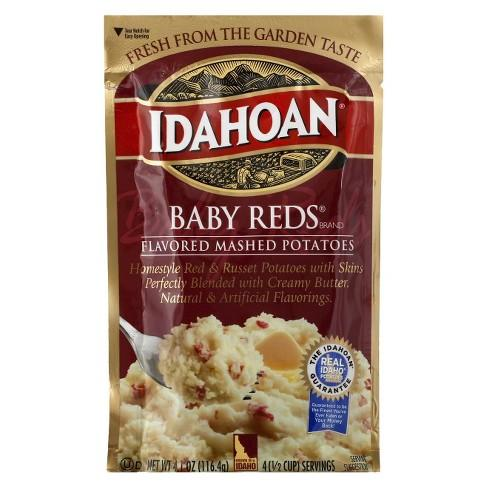 Idahoan Mashed Potatoes Baby Reds Flavored