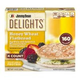 Jimmy Dean Delights Honey Wheat Flatbread Egg Whites, Spinach & Mozz 4 ct