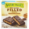 Nature Valley Soft Baked Filled Squares Cocoa Peanut Butter - 5 ct