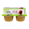 Nature's Promise Organic Apple Sauce Cups Cinnamon Sweetened - 4 ct