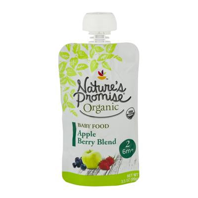 Nature's Promise Organic Baby Food Apple Berry Blend