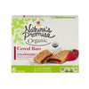 Nature's Promise Organic Cereal Bars Strawberry - 6 ct