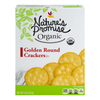 Nature's Promise Organic Crackers Golden Round