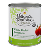 Nature's Promise Organic Tomatoes Whole Peeled