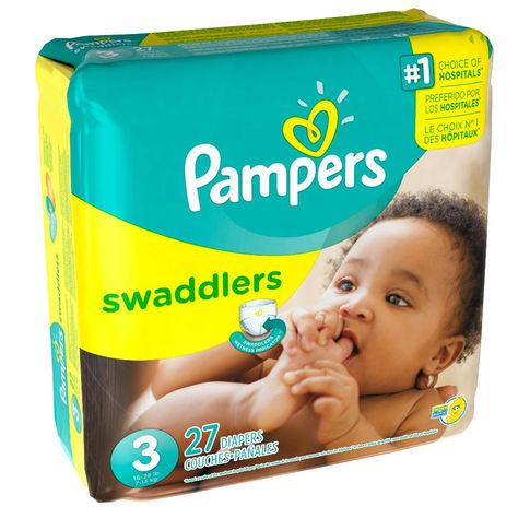 Pampers Swaddlers Size 3 Diapers 16-28 lbs Jumbo Pack