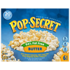 Pop Secret 94% Fat Free Butter Popcorn, 3 Oz, 6 Ct