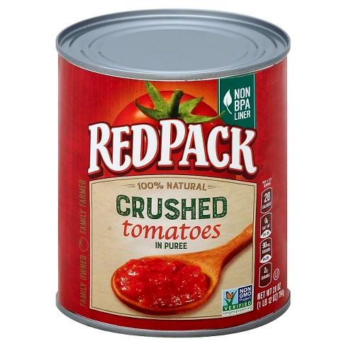 Redpack Tomatoes Crushed in Thick Puree 100% Natural