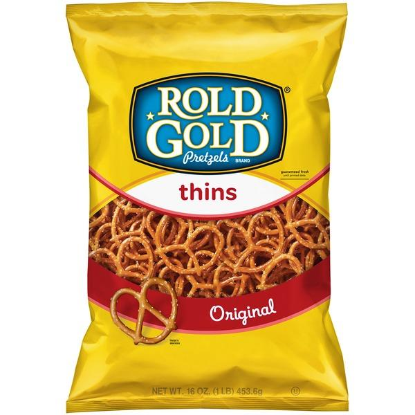 Rold Gold Pretzels Original Thins All Natural Shop Chillacks