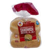 Stop & Shop Sandwich Rolls Homestyle White - 8 ct