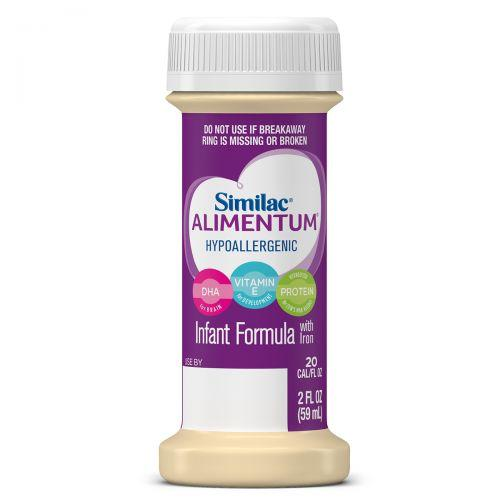 Similac Alimentum Infant Formula with Iron Hypoallergenic Ready to Feed