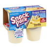 Snack Pack Pudding Vanilla Sugar Free - 4 pk