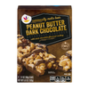 Stop & Shop Seriously Nuts Bar Peanut Butter Dark Chocolate - 4 ct