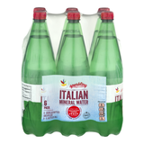 Stop & Shop Sparkling Italian Mineral Water - 6 pk