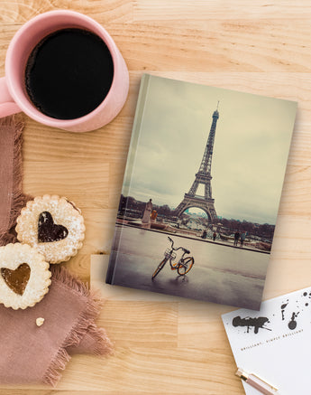 Eiffel Tower with Bike - Notebook