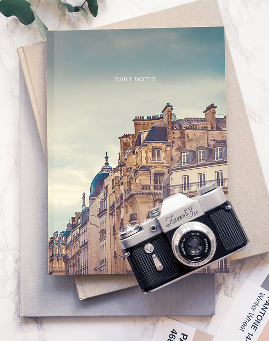 Bonjour Paris - Notebook