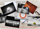 Japan Zen - Set of 7 postcards