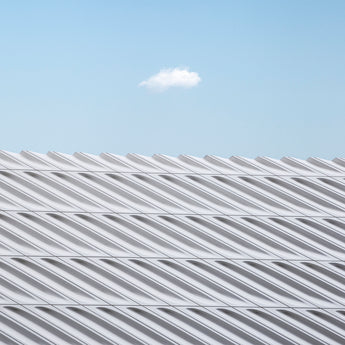 Cloud over The Broad Museum, Los Angeles