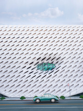 The Broad Museum and Vintage Car