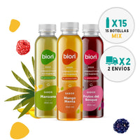 Pack 30 Biori® Waters Variedades