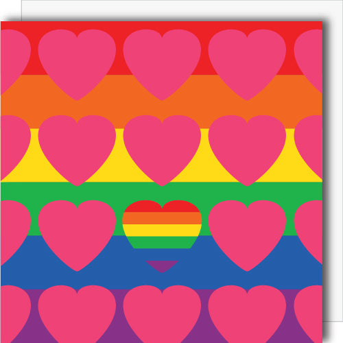 LGBTQ Flag Canvas
