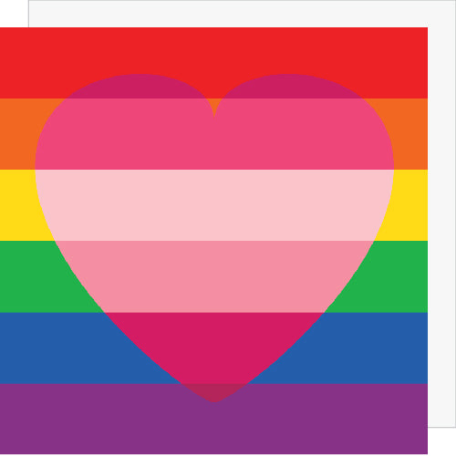 LGBTQ Love Flag Love