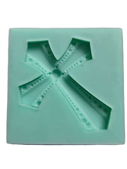 Silicone mould Cross 6.5 x 5cm