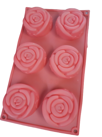 Rose Flower silicone soap or baking mould