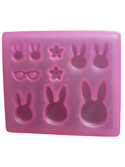 Bunny soft silicone mould