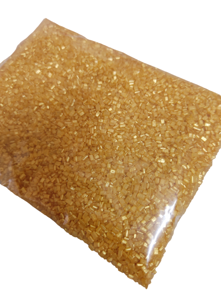 Nicoletta Gold Sugar Crystals, 100g