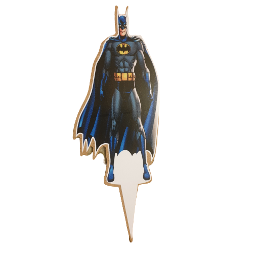Wooden Batman Cake Topper