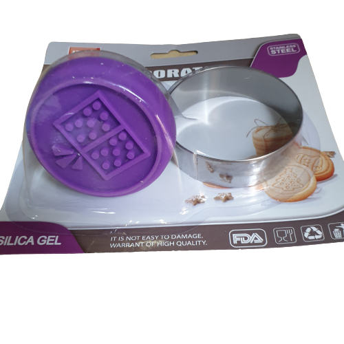 GIFT stamp and metal cutter set, 6cm