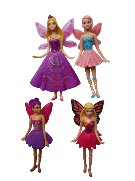 Barbie Fairytopia plastic cake topper figurines,14cm