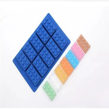 Silicone fondant Lego mould Blocks 4.7x2.5x1.5cm