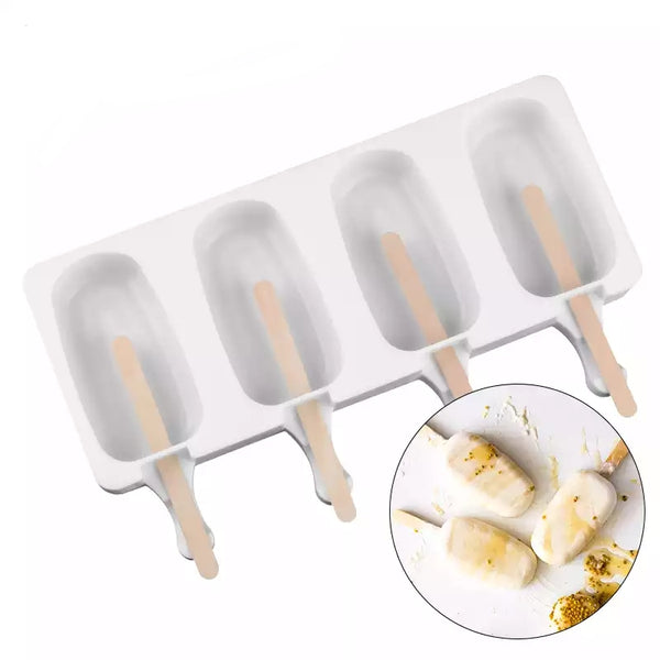 Siliko Ice Cream cakesicle popsicle mould, 9x5cm, Large. 80ml