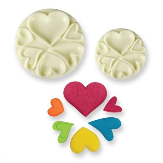 Heart fondant mould, easy pops