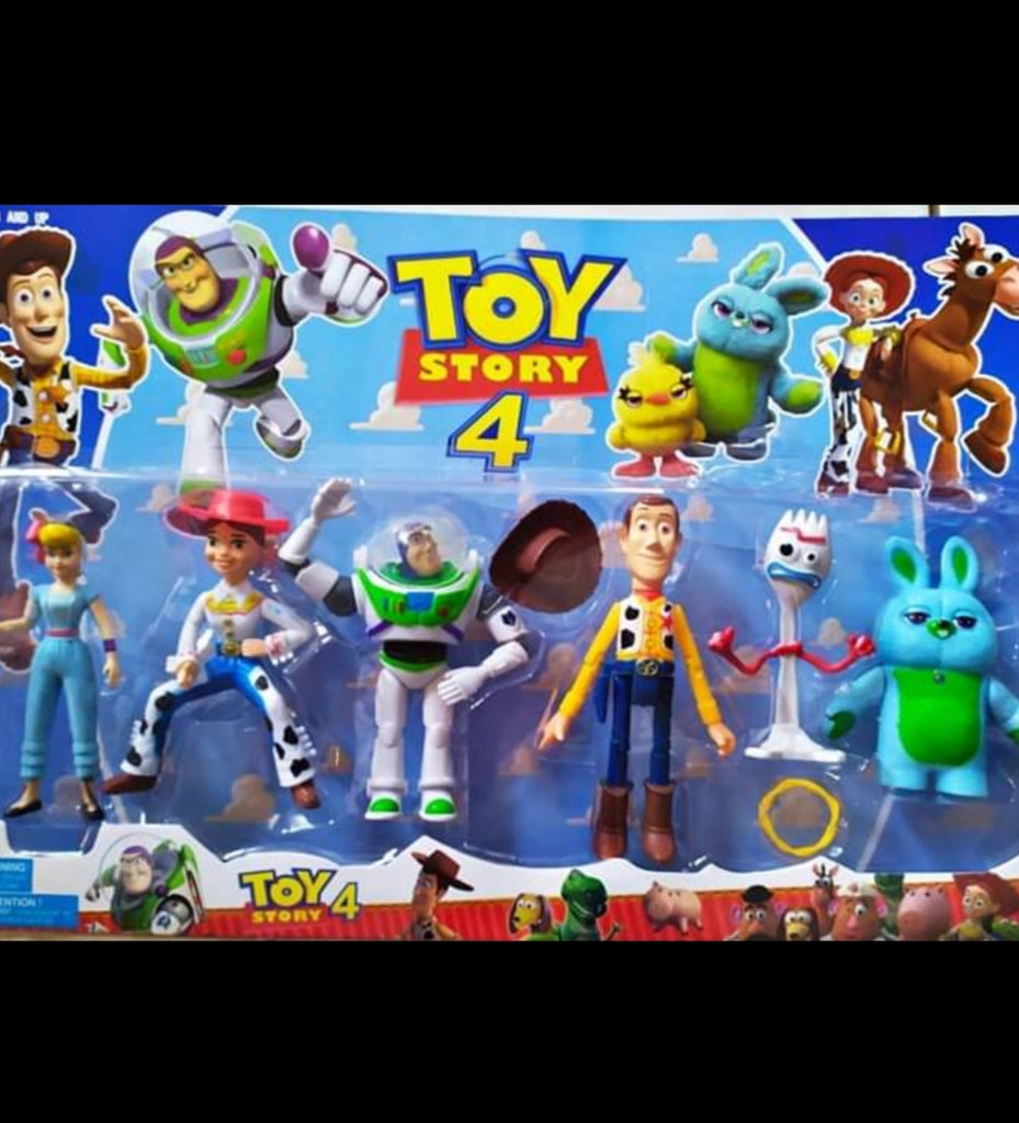 Toy story 4 plastic figurines