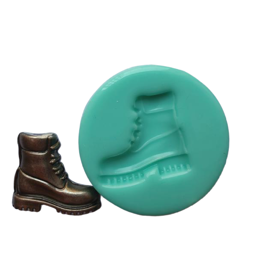 Army Sport Work Boot silicone mould, 3.2x3.7cm