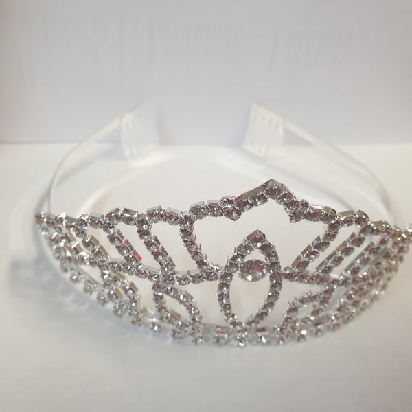 Diamante tiara perfect for cake topper, height 6.5cm