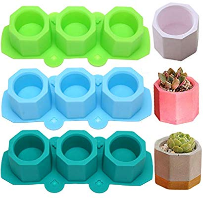 Chocolate cup/bowl, Ice tray, Cement flower pot silicone mould