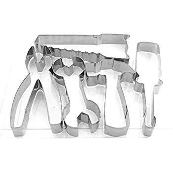 Metal Fondant cutters, Tool set.