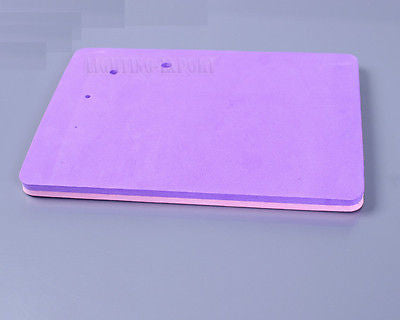 Purple and pink Fondant foam pads