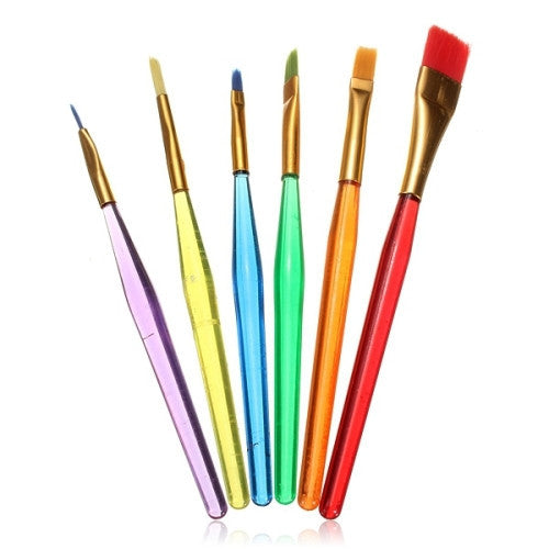 Cake decorating art brush set